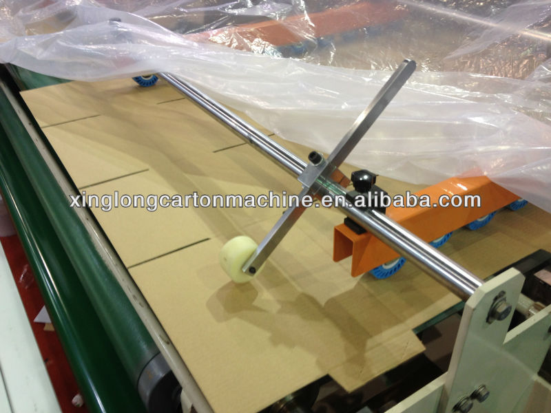 2013 Hot Sale carton flexo folder gluer machine