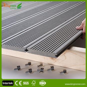 Sgs Certification Waterproof Wood Plastic Composite Wpc Decking Board Patio  Slatted Panel Boards With Groove - Buy Decking Board Patio,Wood Plastic