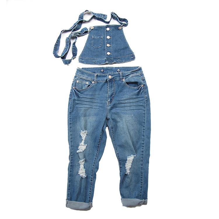 Fissures Leggings Jeans Stretch Skinny Pantalon Slim Lady Femmes XF4qw8Zf