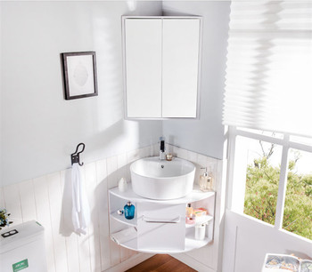 Triangle Bathroom Cabinet Toilet Corner Cabinet 90 Degree Corner Bathroom  Pvc Cabinet Right Angle Wash Basin - Buy Toilet Corner Cabinet,Triangle ...