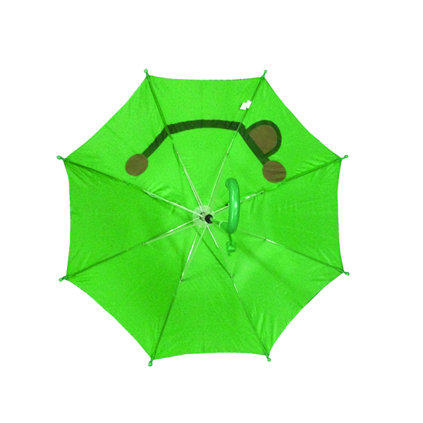 Good quality Funny smile frog umbrella with SGS certification for kids christmas gifts