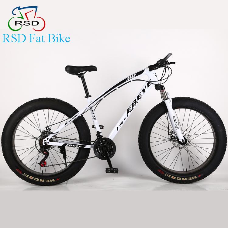 7 Velocidad Playa Bici/marco De Fibra De Carbono Bicicleta Grasa ...