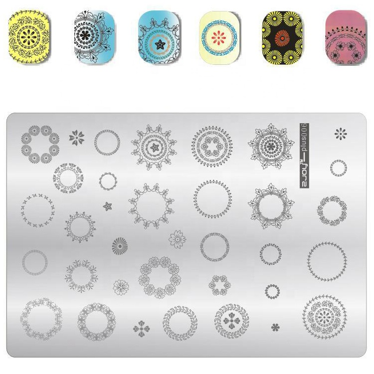 2018 High Quality Hot Selling Stamping Nail Art Image Plate
