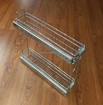 Kitchen Cabinet Drawer Kitchen Pull Out Basket Organizer - Buy Kitchen  Drawer Basket,Kitchen Pull Out Basket,Kitchen Cabinet Organizer Product on  ...