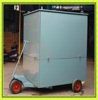 FENGYU Mobile Trailer Mounted Vacuum Transformer Oil Purifier/Insulation Oil Filtration /Dielectric Oil Purification System