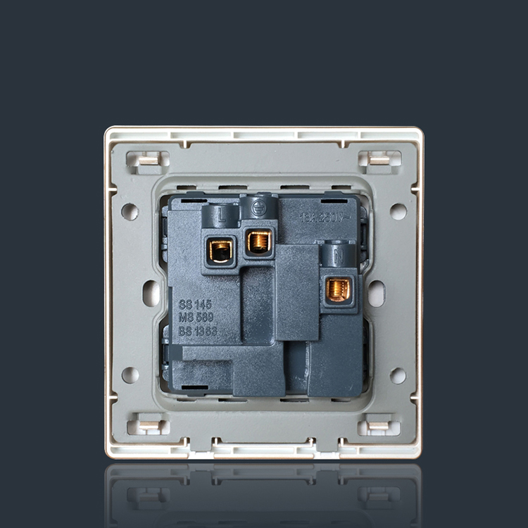 New design 1 switch 3 hole socket american standard switch socket