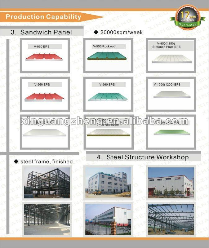 construction design steel structure warehouse shed workshop