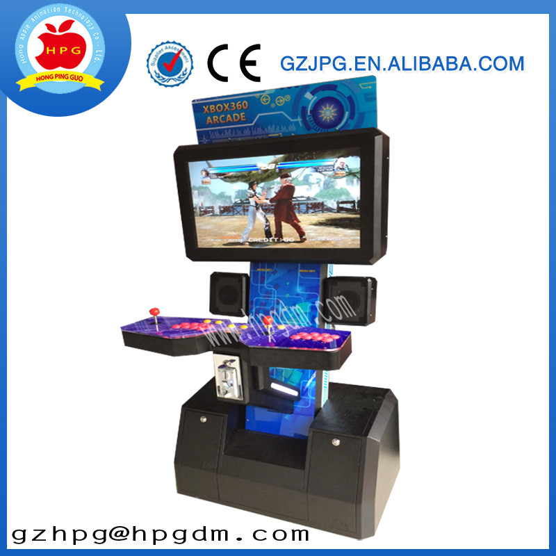 2 players fighting game machine/XBOX 360 video game for best sale product