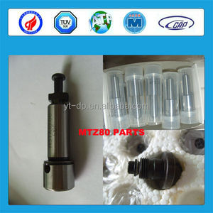 Russian engine MTZ80 spare parts injector nozzle plunger and delivery valve