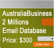 Australia Business Mailing Lists
