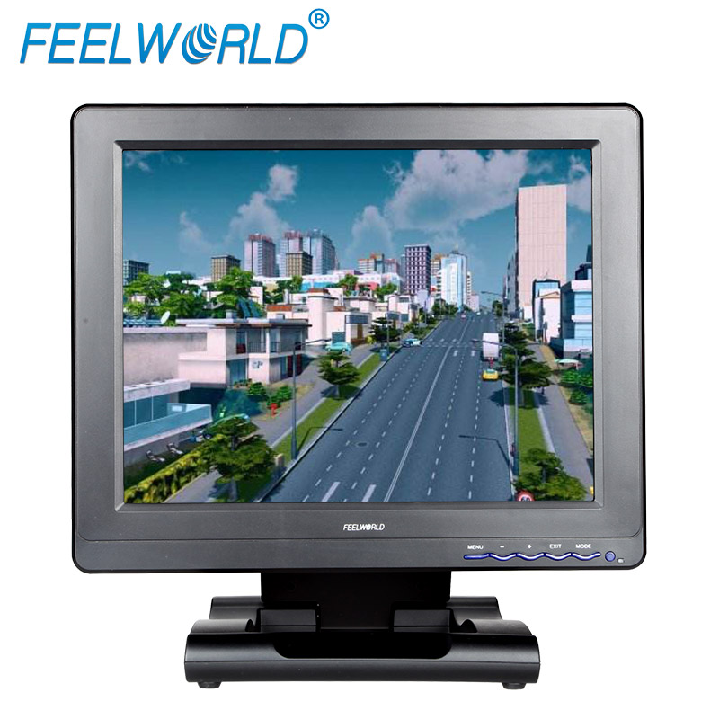 Feelworld 12 inch cctv camera system 3G-SDI monitor FC121-3HSD