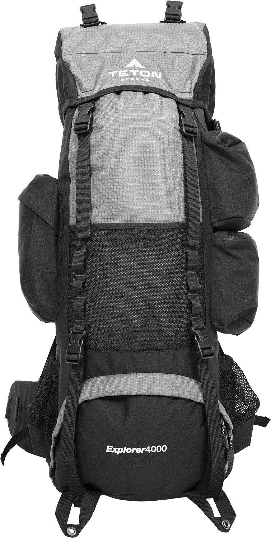 Teton Sports Explorer 4000 Internal Frame Backpack – Not Your Basic Backpack   High-Performance 3e9f406c76d20