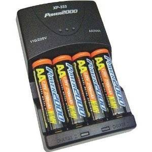 with Charger Sony DSC-P93 Digital Camera Battery Charger Replacement for 4 AA NiMH 2800mAh Rechargeable Batteries