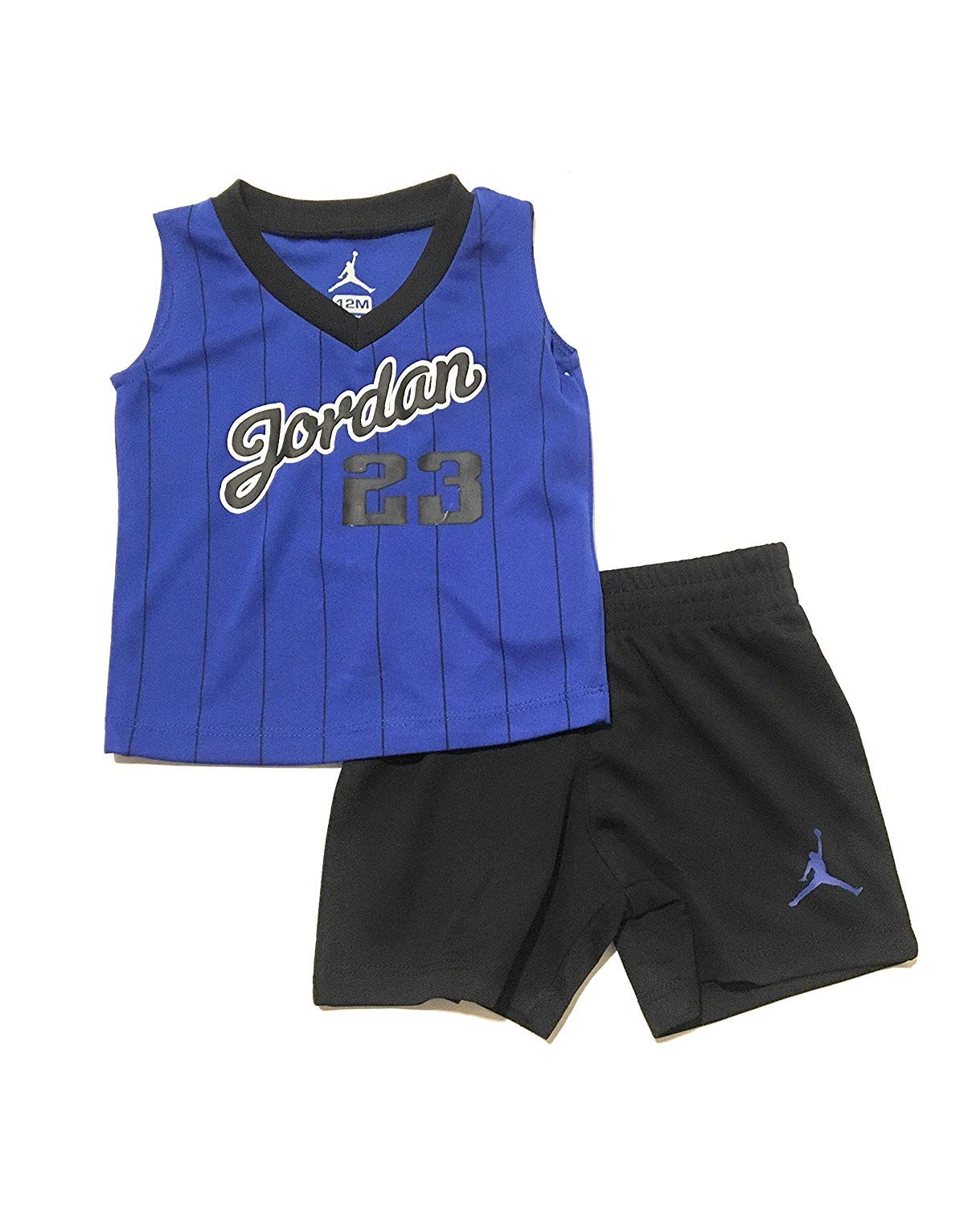 cd41b9dc295111 Get Quotations · Jordan Infant Boys Tank Top and Shorts Set Hyper Royal  Size 12 Months
