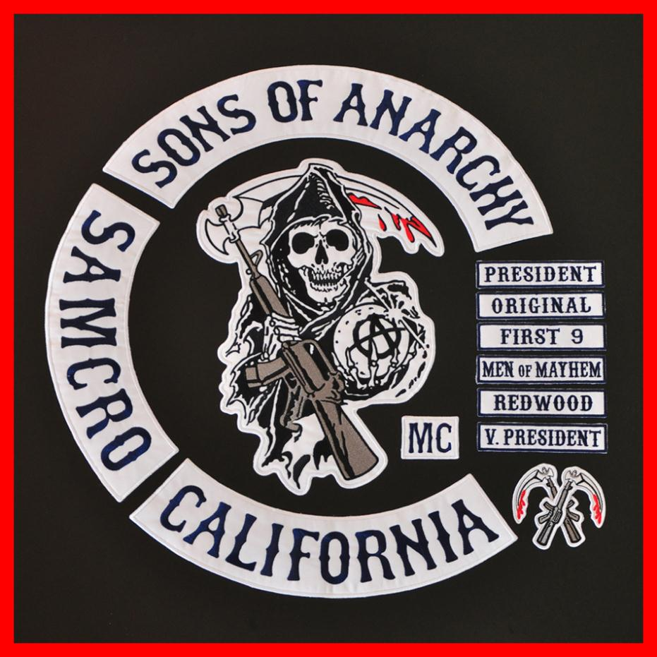 Compare Prices on Sons Anarchy Patches- Online Shopping