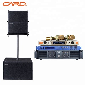 Line array speakers professional audio sound system