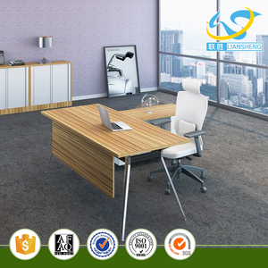 Modern Office Furniture Office Desk Manager Desk Office Table Executive CEO Desk with Drawer L-Shaped