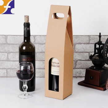 Foldable Carton Gift Boxes Champagne Vodka Liquor Whisky