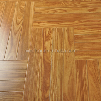 Herringbone parquet laminate wood flooring 12mm AC2 AC3 AC4