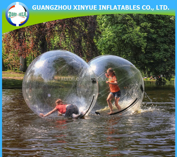 Customized Inflatable Floating Water Ball Water Ball Paintball Ce ...