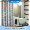 polyester bathing shower curtian ,waterproof shower curtains wholesale