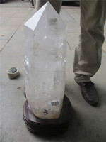 Natural Full Clear Quartz Crystal Points For Sale,Large Point ...