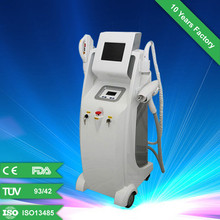 Alibaba express RF+Elight+ND YAG Laser salon equipment for tattoo removal/skin rejuvenation