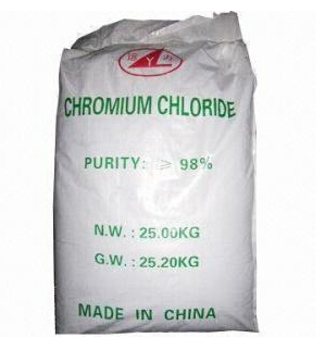 98%Chromium chloride crcl3.6h2o for industry grade