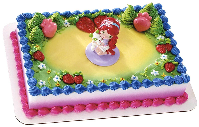 Cheap Strawberry Shortcake Edible Cake Topper, find Strawberry ...