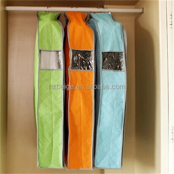 non woven garment bag dry cleaning/promotion leather garment bag