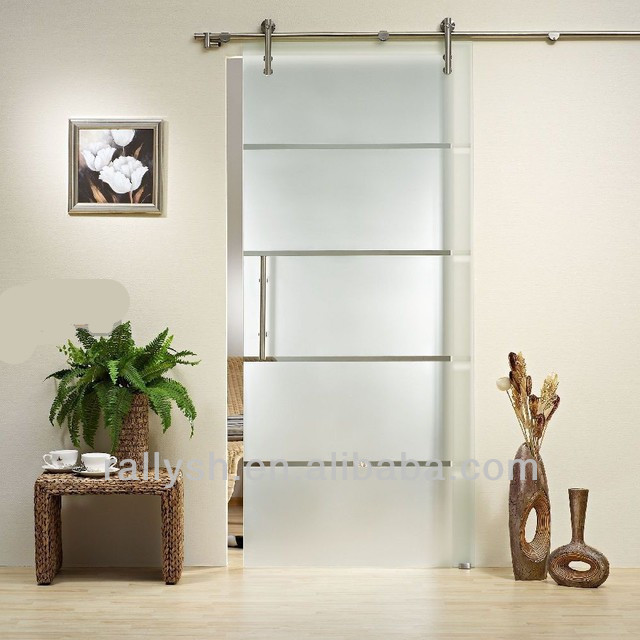Fashion design sliding barn door hardware for glass doors