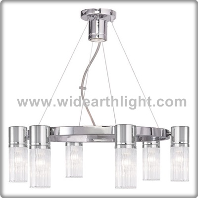 UL CUL Listed Living Room Light With Glass Shades For Hanging On Ceiling C81394