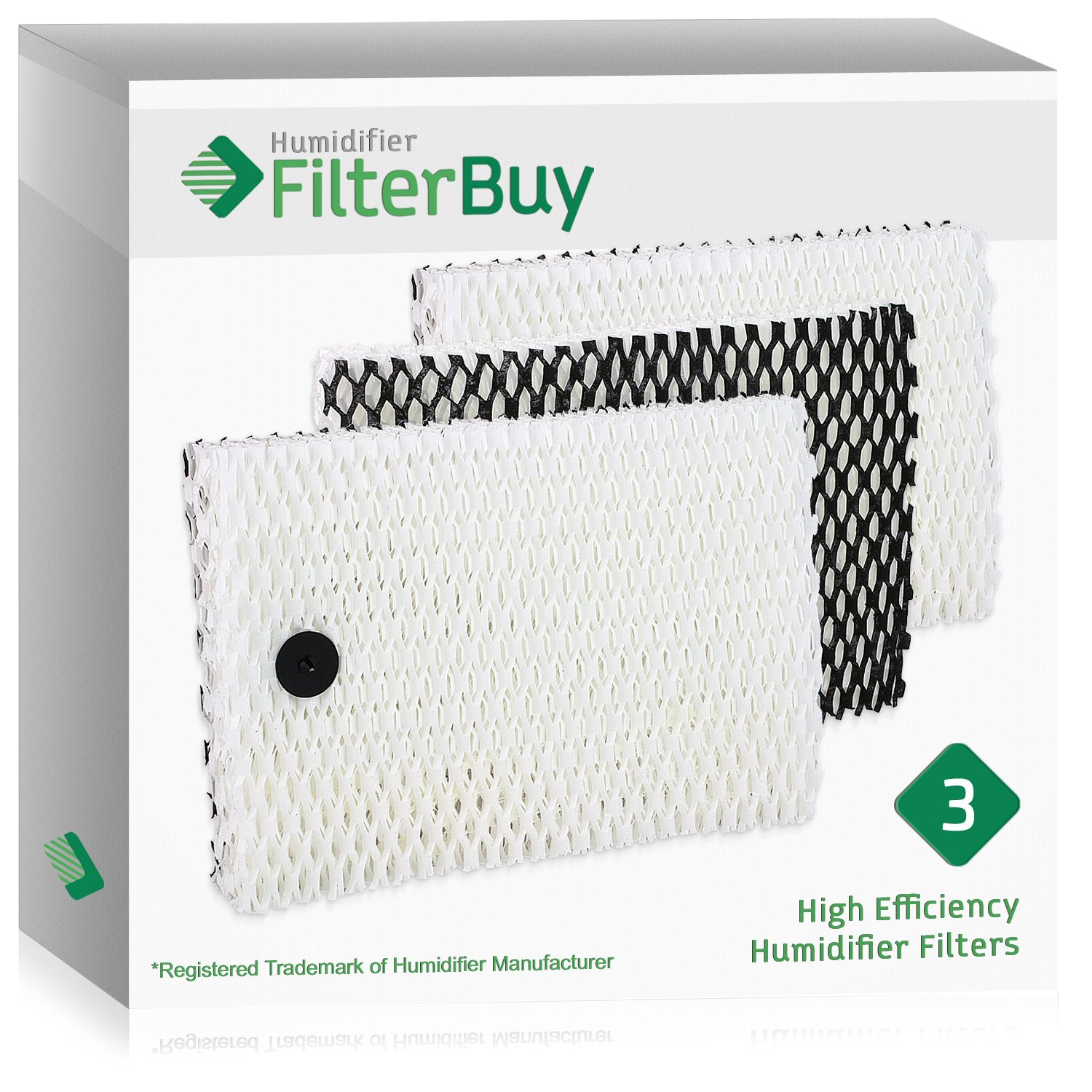 HM2220 /& HM2200 Fits Sunbeam SCM1745 /& SCM1746 HM1745 HM1750 HM1730 HM1746 Holmes HWF64 Humidifier Filter B Fits HM1761 HM1645 Designed /& Engineered by Crucial Air