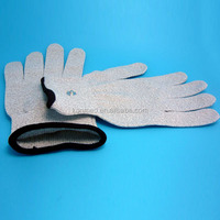 Cheaper price conductive hand gloves massager for health care