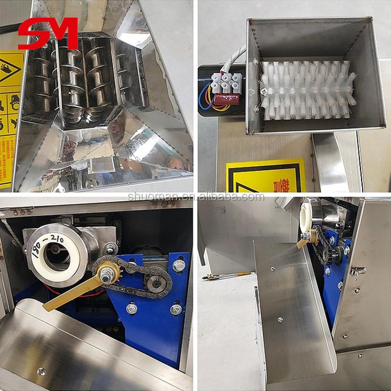 Rodillo de masa manual comercial de alta capacidad