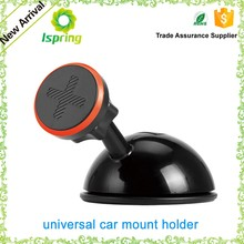Universal 360 Rotations Magnetic Phone Mobile Car Dash Holder Magnetic Stand Mount for all cell phones