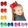 SWTM1345 Baby Bowknot Hair Clip, Ribbon Clips Hairpin Boutique Head ware Kids Hair Accessories