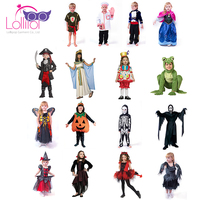 Factory direct sale custom kids children carnival halloween fancy dress costumes