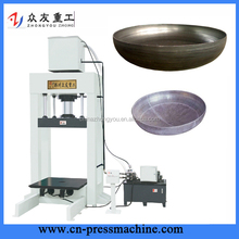 cheap flanging hydraulic press for dish end