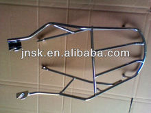 Motorcycle back carrier frame for suzuki