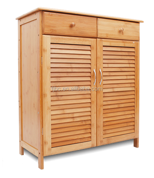 Factory High Quality Living Room Furniture Bamboo Storage Cabinet Show  Storage Cabinet With Two Opening Door And Drawer - Buy Small Storage  Chest,Tall ...
