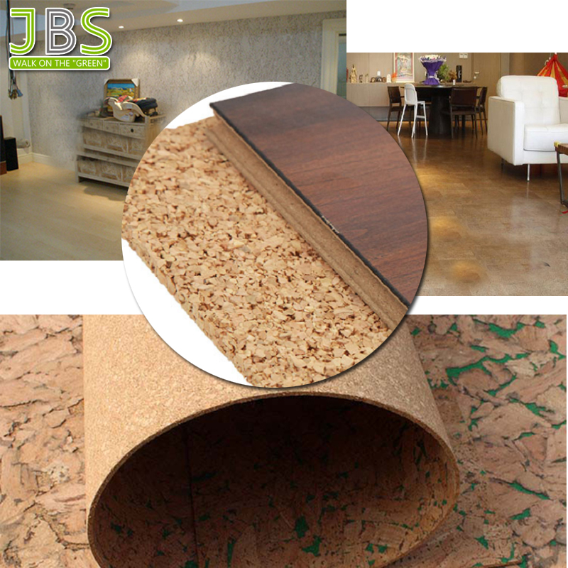 Eco-friendly Cork Board Sheet For Underlayment And Bulletin Board