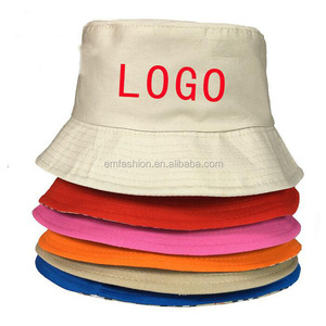 Cheap Advertising Promotions Customized Personal Logo Print Embroidery Unisex Bucket Hat