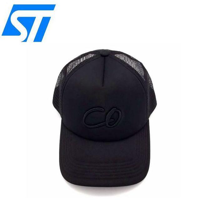 10e801f3b8e63 China cap factory private label hat trucker hat custom mesh foam trucker hat