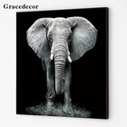 Factory Customized Wall Decor Print Elephant Picture