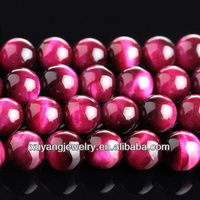 Rose Tiger Eye 12mm Round Beads (AB1471)