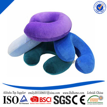 Alibaba China Supplier Bottom Price Label Custom Memory Foam Neck Pillow Small