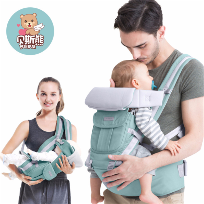 fc9e725e4c3 2018 Amazon Hot Selling Chest Way Kangaroo Bethbear Baby Carrier With Detachable  Hip Seat - Buy Baby Hip Seat