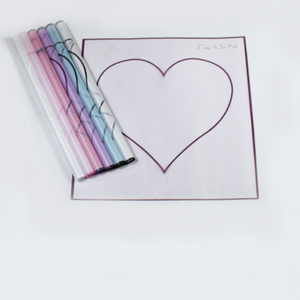 Shinewrap Hot-sale new products heart love flower /gift wrapping paper made in roll and sheet