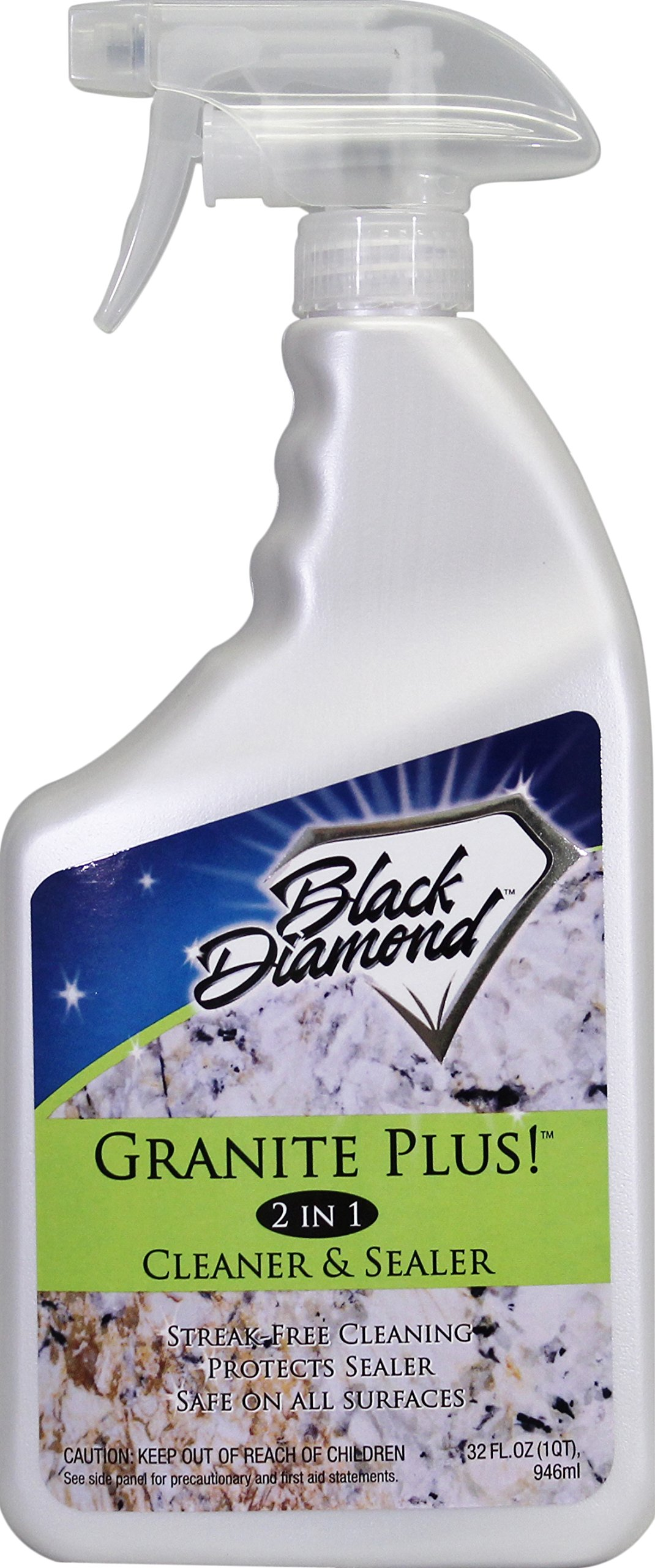 GRANITE PLUS! 2 in 1 Cleaner & Sealer for Granite, Marble, Travertine, Limestone, Ready to Use